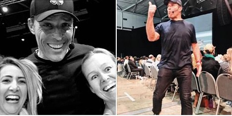 Susi Kaeufer and Tony Robbins