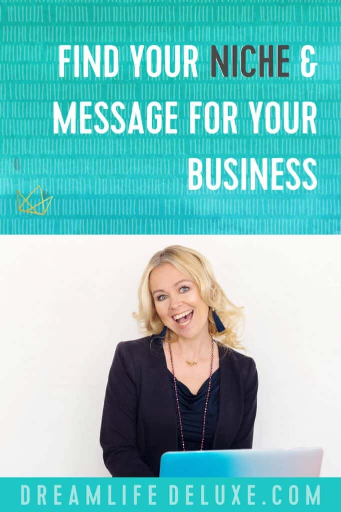 find your niche and message for your business