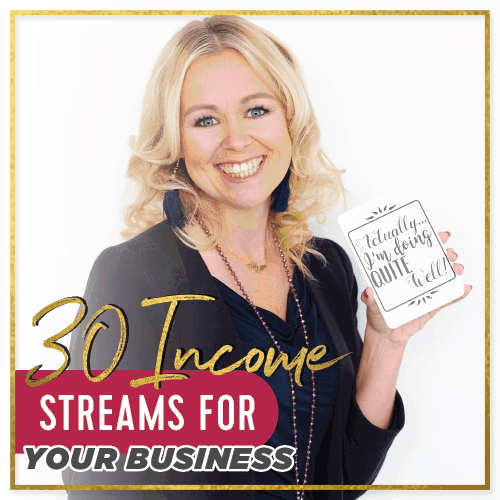 30 Income Streams for your business