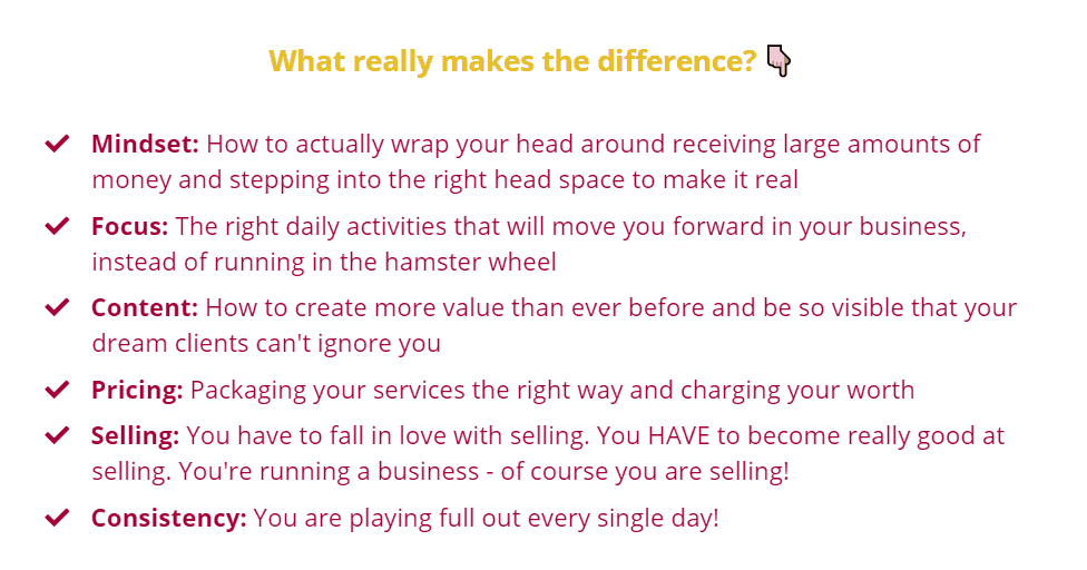 What really makes the difference