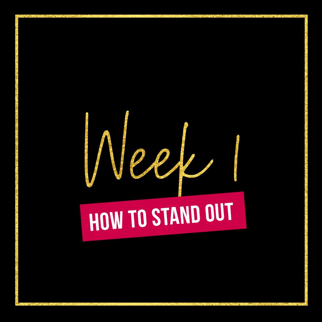 Week 1 - New